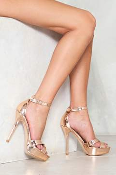 Nasty Gal Two Part Ways Stiletto Heel