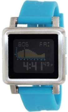 Nixon Digital Dial Stainless Steel Silicone Quartz Mens Watch A157-917