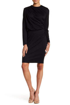 Alexia Admor Draped Sheath Dress
