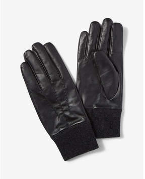 Express genuine leather gloves