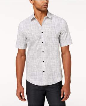Alfani Men's Geo-Print Shirt, Created for Macy's