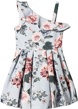 Bardot Junior Light Blue Ebony Dress with Floral Print