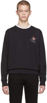Saturdays NYC Black Bowery Paradise Sweatshirt