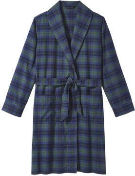 Joe Fresh Men's Hooded Sleep Robe, JF Jag Green (Size S/M)