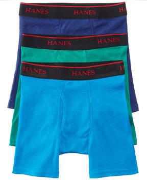 Hanes Platinum 3-Pk. Boxer Briefs, Big Boys (8-20)