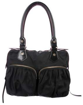 MZ Wallace Leather-Trimmed Multi-Pocket Bag