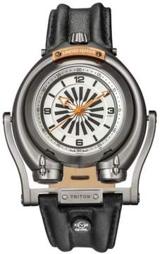 Triton Gv2 By Gevril Silver Dial Automatic Men's Watch