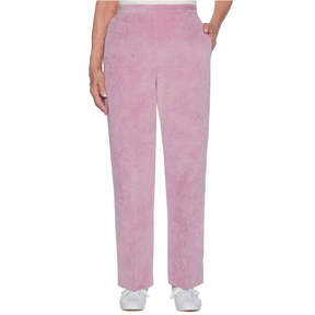 Alfred Dunner Winter Garden Corduroy Flat Front Pants