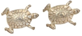 Tiffany & Co. Vintage 925 Silver Tortoise Huggie Earrings
