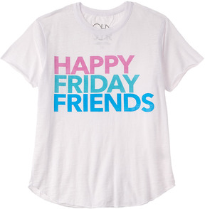 Chaser Girls' Happy Friday T-Shirt