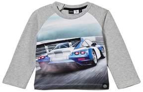 Molo Evan Car Race Sweater