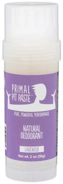 Smallflower Lavender Stick Pit Paste by Primal Products (2oz Deo Stick)
