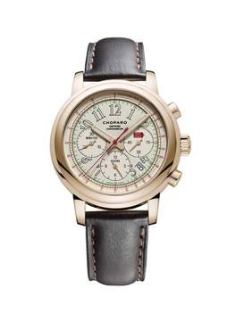 Chopard Mille Miglia 2014 Race Edition White Dial 18 Carat Rose Gold Men's Watch