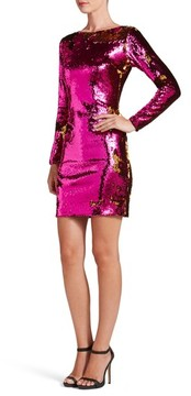 Dress the Population Women's Lola Ombre Sequin Body-Con Dress