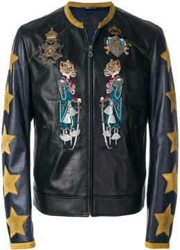 Dolce & Gabbana applique detail jacket