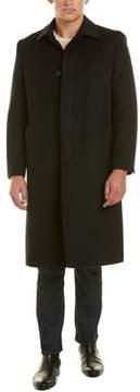 Hart Schaffner Marx Stanley Wool & Cashmere-blend Coat.