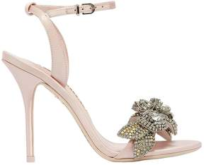 Sophia Webster 100mm Lilico Crystal Satin Sandals