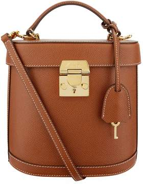 Mark Cross Benchley Grained Leather Shoulder Bag