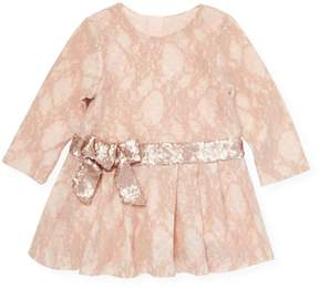 Billieblush Sequined Bow Dress