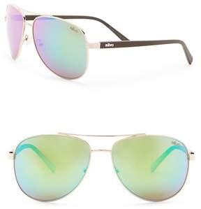 Revo Shaw Polarized 61mm Aviator Sunglasses