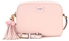 Dolce & Gabbana Leather crossbody bag - PINK - STYLE