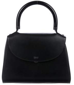 Giorgio Armani Leather Top Handle Bag
