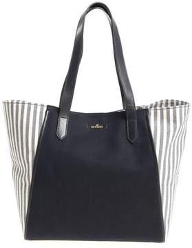 Hogan Side-Striped Shopper Bag