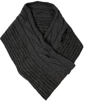 Max Mara 'S Cable Knit Shawl