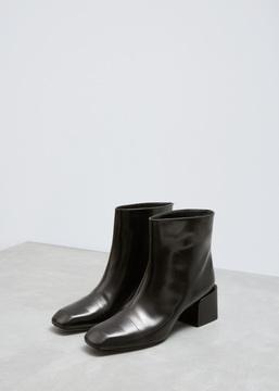 Jil Sander Black Corsaro Boot