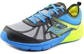Saucony Boy Volt Round Toe Synthetic Running Shoe.
