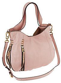 Oryany As Is Italian Leather Convertible Shoulder Bag - Melanie
