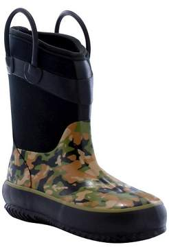 Western Chief Toddler Boy Wilderness Camo Neoprene Rain Boot Green