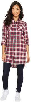 Burton Grace Flannel Tunic Women's Blouse