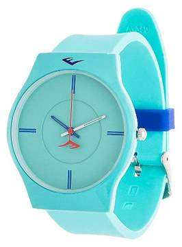 Everlast Soft Touch Rubber Strap Watch - Turquoise