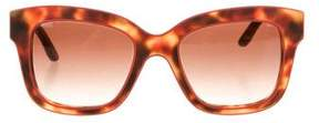 Stella McCartney Tortoiseshell Square Sunglasses