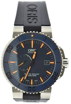 Oris Aquis 7654 Titanium & Rubber Automatic 43mm Mens Watch