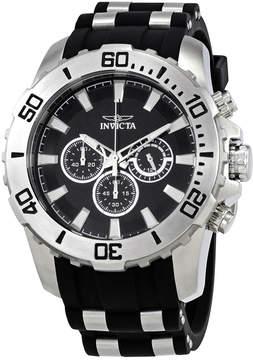 Invicta Pro Diver GMT Black Chronograph Men's Watch