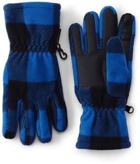 Lands' End Lands'end Boys ThermaCheck 200 Printed Gloves
