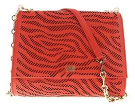 Roberto Cavalli Small Shoulder Bag Audrey 001 Coral Shoulder Bag.