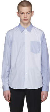 Paul Smith Blue Tailored Contrast Shirt