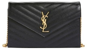 SAINT-LAURENT - HANDBAGS - WALLETS