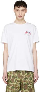 Rag & Bone White Flag T-Shirt