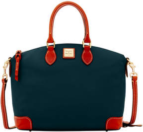 Dooney & Bourke Wexford Leather Satchel - BLACK - STYLE