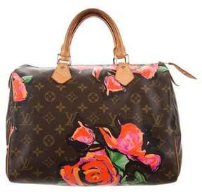 Louis Vuitton Monogram Roses Speedy 30