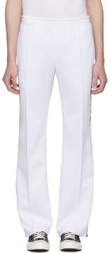 Faith Connexion White Kappa Edition Lounge Pants