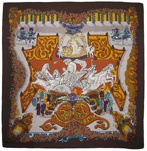 One Kings Lane Vintage Hermès Le Paradis du Roy Scarf