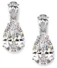 Adriana Orsini Sterling Silver Pear Drop Earrings