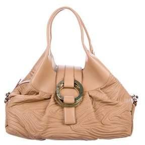 Bvlgari Leather Chandra Bag