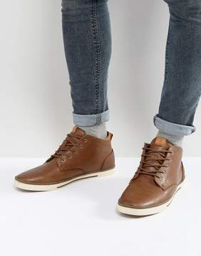 Call it SPRING Iberawia Hi Top Sneakers In Tan