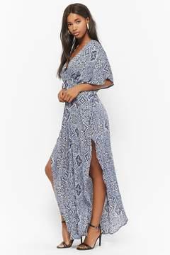 Forever 21 Bandana Print Maxi Dress